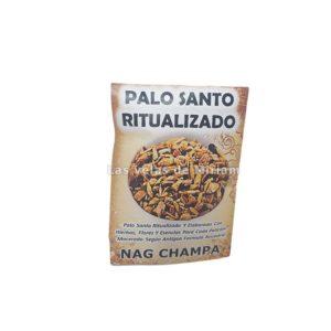 Palo santo ritualizado Nag champa