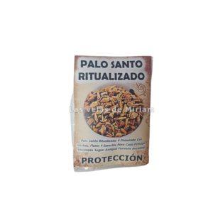 Palo santo ritualizado protección