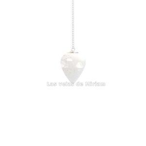 Péndulo cuarzo cristal