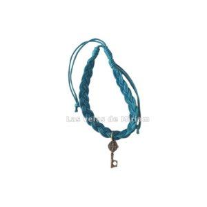 Pulsera hilo color azul